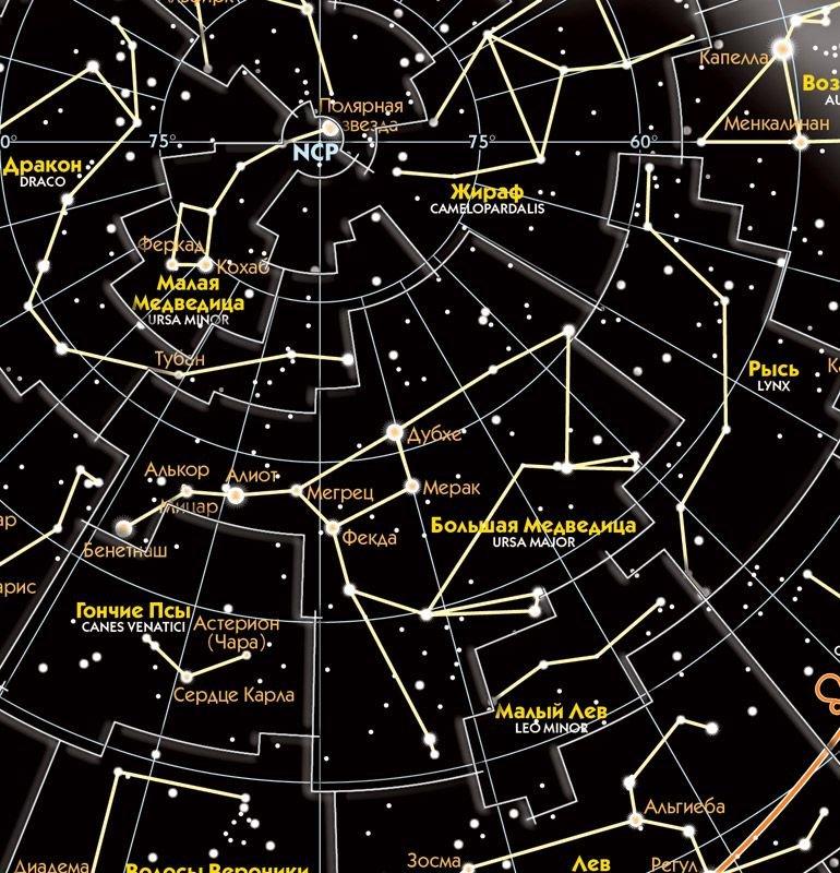 карта звездного неба картинки и их названия крещатике менялы