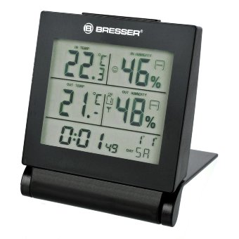Метеостанция Bresser MyTime Travel Alarm Clock