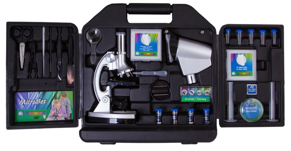 Микроскоп bresser junior biotar 300x 1200x в кейсе по цене 4 990